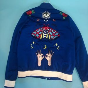 Adidas original embellished arts bomber jacket